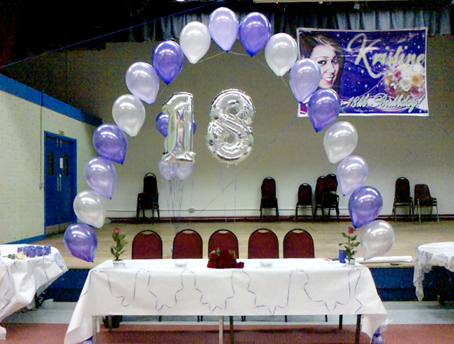 Anne's Florist | Hall Decoration | Balloon Arch
